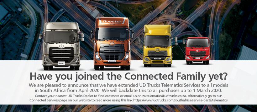 UD Trucks Telematics