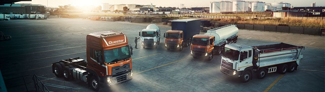 New Quester UD Truck Range with Escot